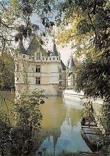 BF959 Azay le rideau le chateau se mirant dans un bras de l indre  France