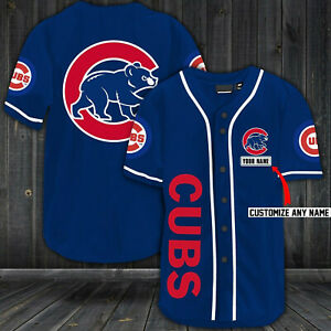 Chicago Cubs Baseball Jersey Customized Your Name