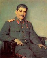 Dream-art hand paint Oil painting male Portrait of General joseph stalin canvas