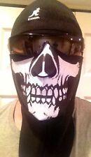 Face Mask Evil Skull Face Neoprene Motorcycle Biker Ski Snow PUNISHER MASK neck