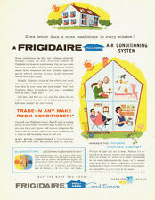 1956 vintage ad, Frigidaire Home Air Conditioning Systems- 041213