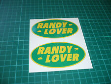 RANDY LOVER Stickers - Landrover Discovery Range Rover