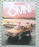 1989 Dodge Raider Import Truck Dealer NOS Sales Brochure