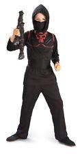 Child Red Skull Ninja Martial Art Costume M8-10