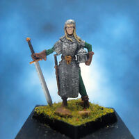 Painted Fenryll Miniature Female Fighter I
