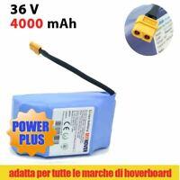 BATTERIA ION DI LITIO DA 36V 4A 20 CELLE RICAMBIO PER SMART BALANCE HOVERBOARD