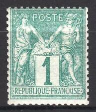"FRANCE STAMP TIMBRE  N° 61  "" TYPE SAGE 1 c VERT 1876 "" NEUF xx TTB   P420"