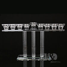 Crystal Candle Holder 9 Head Wedding Party Decor Candlesticks Mother's Day Gifts