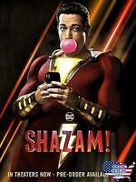 Shazam! (Blu-ray + DVD + Digital, Region A/1, 2019)