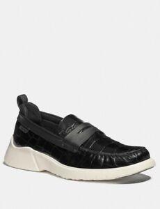 Coach Brand Mens Shoe Citysole Loafer (Black)