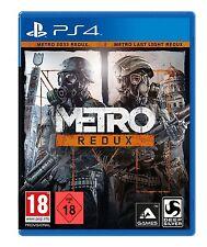PS4 Juego Metro Redux con Last Light & Redux 2033 Producto Nuevo