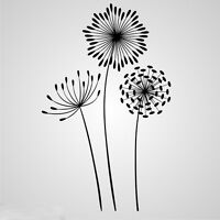 DANDELIONS Reusable Stencil A3 A4 A5 Romantic Shabby Chic Craft DIY Art / F23