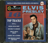 Elvis Presley - 16 Top Tracks Diamond (CD, 1988, RCA)