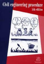 Civil Engineering Procedure by Institution of Civil Engineers (Paperback, 1996)
