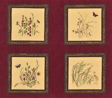 Enchanted Pond Fabric Panel / Moda Fabric Blocks Holly Taylor Quilt Squares