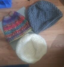 3 Tobajons Hats 1 Is From Claires Other 2 are  Homemade