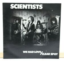 "SCIENTISTS ""We Had Love/Clear Spot""Aussie press.1983,Au Go Go Record VG+++"