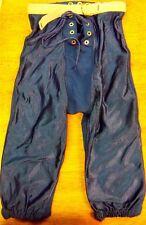 FabKnit junior Xs blue football Pants Rn#69012 Nwot