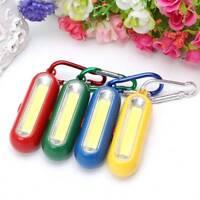 LED Mini Torch Flashlight Camping portable small Compact Keyring carabiner Hook