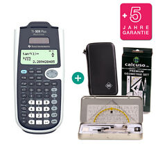 TI 30 X Plus MultiView Taschenrechner + Schutztasche GeometrieSet Garantie