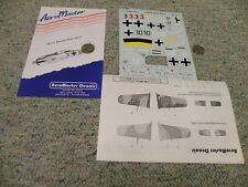 Aeromaster  decals 1/48 48-111 Butcher Birds Part 4    L87