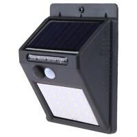 30 LED Solaire Puissance PIR Motion Sensor Jardin Sécurité Yard Chemin Mur Lampe