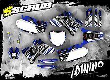 SCRUB Yamaha graphics decals kit YZf 250 400 426 1998-2002 stickers '98-'02