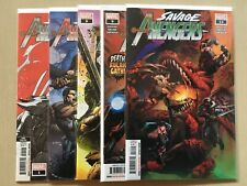 Savage Avengers #1, 6, 8, 9, 14 Marvel Comics Conan Wolverine David Finch