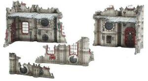 Warhammer 40k Command Edition NEW Scenery Terrain Manufactorum Ruins NOS