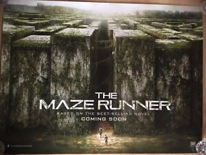 The Maze Runner. - Original UK QUAD Sheet Movie Poster