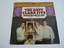 The Dave Clark 5 Satisfied With You RARE Un-used LP Album Record Cover Slick