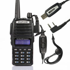 BaoFeng UV-82L + USB Cable Kit VHF/UHF Dual Band Two-way Walkie Talkie Radio