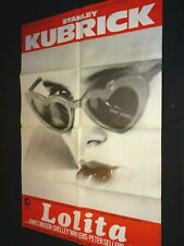 LOLITA Stanley Kubrick  affiche cinema ressortie 80
