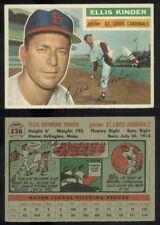 (56717) 1956 Topps 336 Ellis Kinder Cardinals-GD