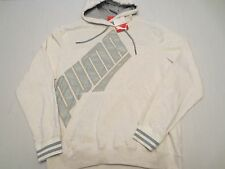 PUMA PULLOVER GRAPHIC HOODIE SWEAT SHIRT MARSHMALLOW HEATHER Mens Size LARGE L