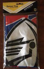 NRL NEWCASTLE KNIGHTS  BANNER FLAG 132 CM X 20 CM BRAND NEW