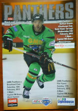 New listing Ice Hockey - Nottingham Panthers v Belfast Giants programme (Challenge Cup 2013)