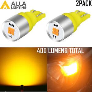 Alla Lighting LED 194  Roof Marker Sidemarker Parking Light Bulb, Direction Beam