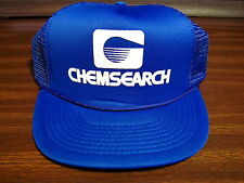 CHEMSEARCH Mesh Snapback HAT Trucker Cap Very Good Clean Condition