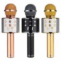 Q7 Wireless Bluetooth Magic Karaoke Microphone Speaker MINI USB mic Speaker UK