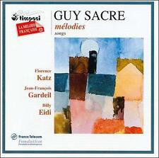 Sacre: Mélodies, New Music