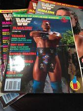 WWF WWE Magazine OCTOBER 1992 Tatanka + Merchandise Catalog