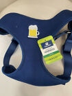 17) NEW TOP PAW Step in Comfort Harness BLUE WITH BEER MUG! Medium and Large