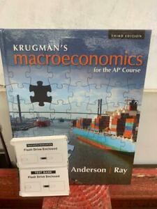 "KRUGMAN""S Macroeconomics Third Edition for AP Course 978-1-319-11328-5 New"
