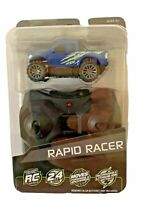 Rapid Racer Remote Control Car Adventure Force Blue NIB Ships FREE