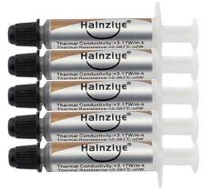 5 x 1g Argent graisse thermique pâte tube hy710 refroidissement du processeur puce gpu dissipateur de chaleur
