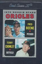 1970 Topps #121 Orioles Rookie Stars Beene/Crowley EX/MT *6498