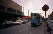PHOTO  1996 BELGIUM TRAM BRUXELLES MIDI  TRAM NO 7784 ON ROUTE 82