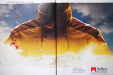 PUBLICITÉ DE PRESSE 1986 MARLBORO LEISURE WEAR VÊTEMENTS SPORT - ADVERTISING