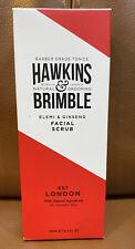 Hawkins & Brimble Facial Scrub Elemi Gingseng Skin & Face Exfoliator 125ml BNIB